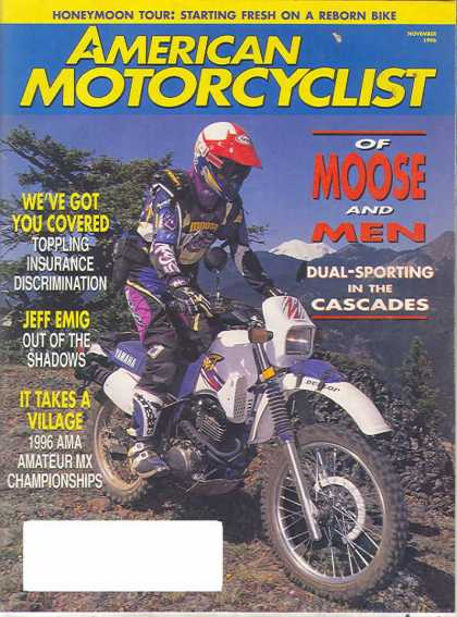 American Motorcyclist - November 1996