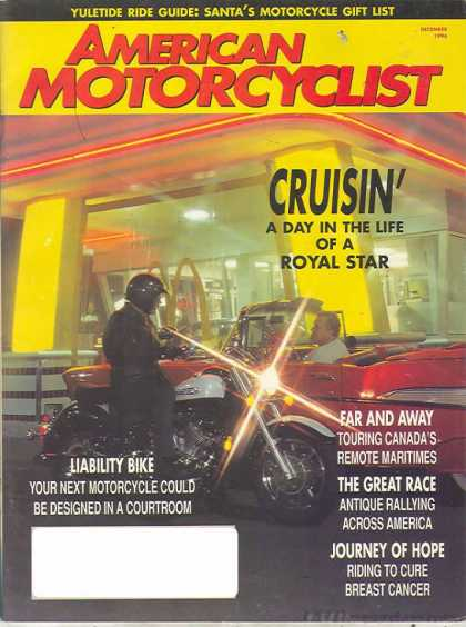 American Motorcyclist - December 1996