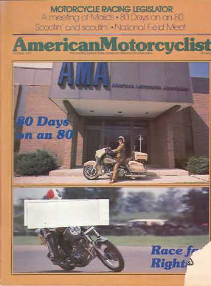 American Motorcyclist - October 1979