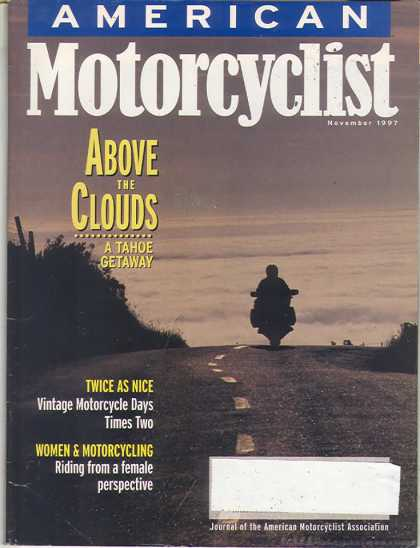 American Motorcyclist - November 1997