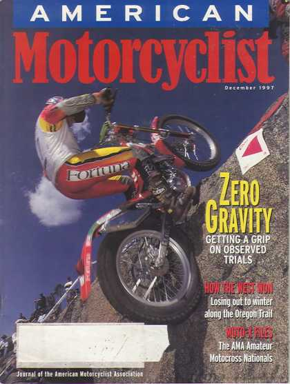 American Motorcyclist - December 1997