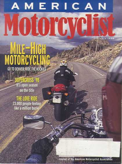 American Motorcyclist - February 1998