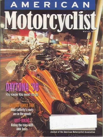 American Motorcyclist - March 1998