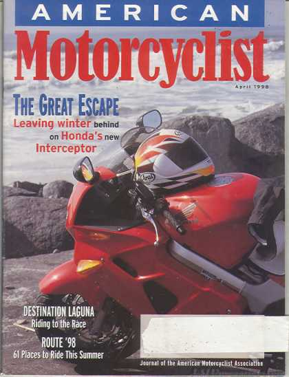 American Motorcyclist - April 1998