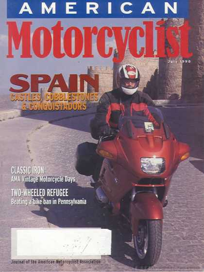 American Motorcyclist - July 1998