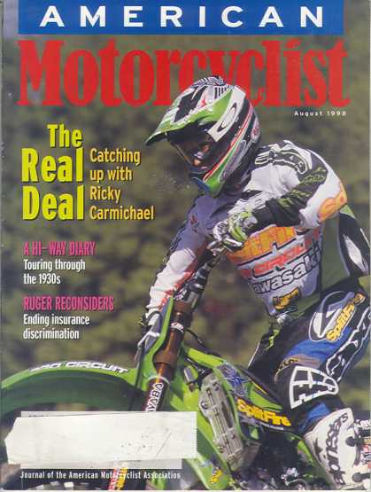 American Motorcyclist - August 1998