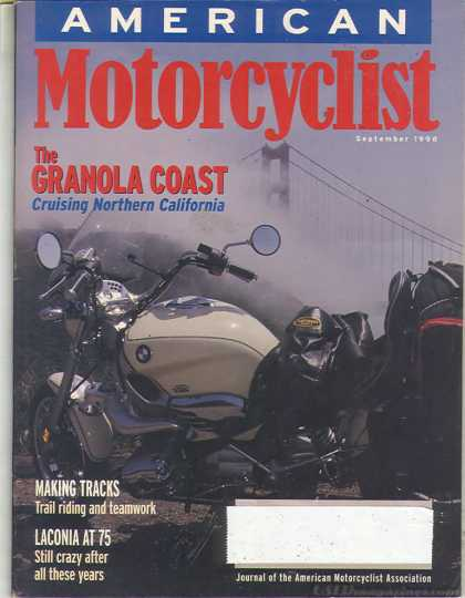 American Motorcyclist - September 1998