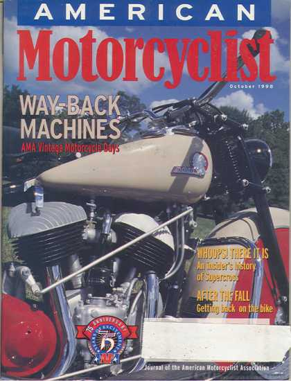 American Motorcyclist - October 1998