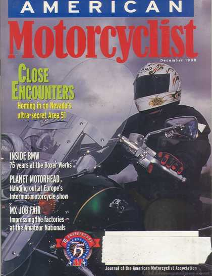 American Motorcyclist - December 1998