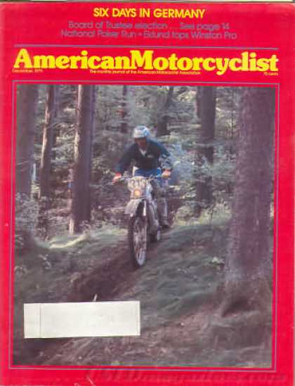 American Motorcyclist - December 1979