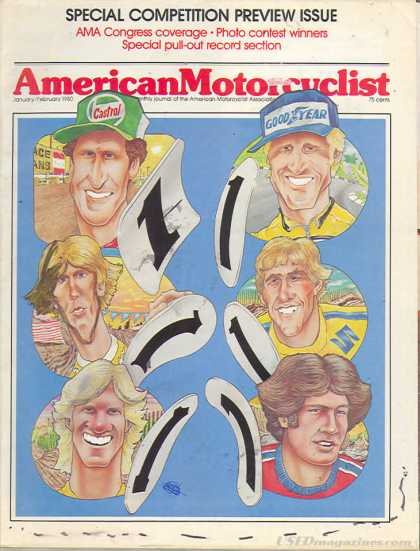 American Motorcyclist - January 1980