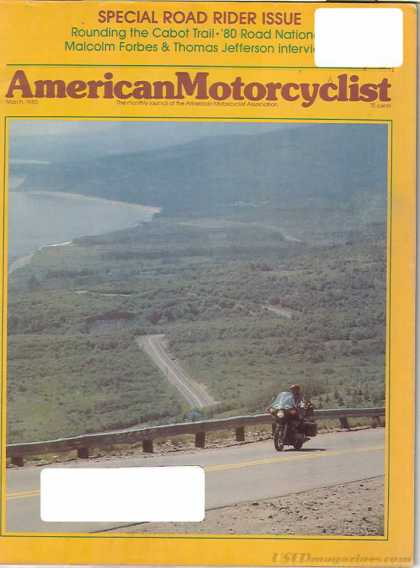 American Motorcyclist - March 1980