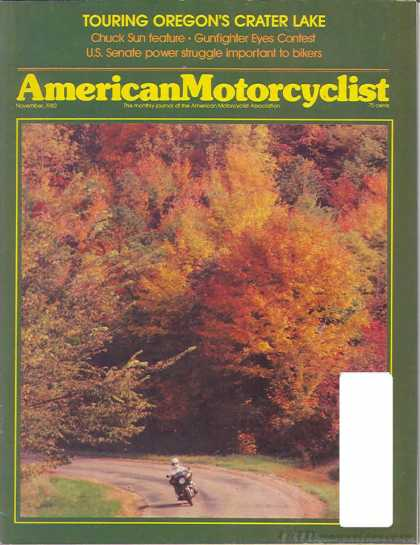 American Motorcyclist - November 1980