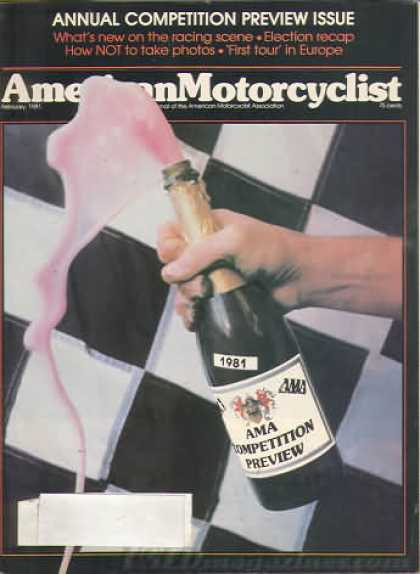 American Motorcyclist - February 1981