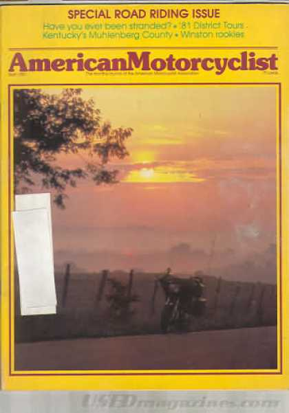 American Motorcyclist - April 1981