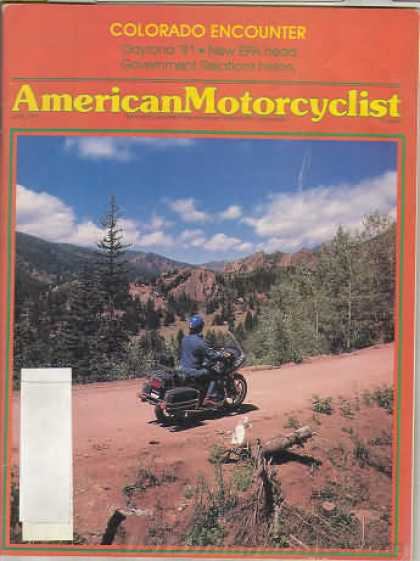 American Motorcyclist - June 1981