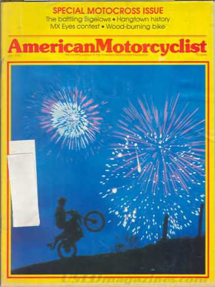 American Motorcyclist - July 1981