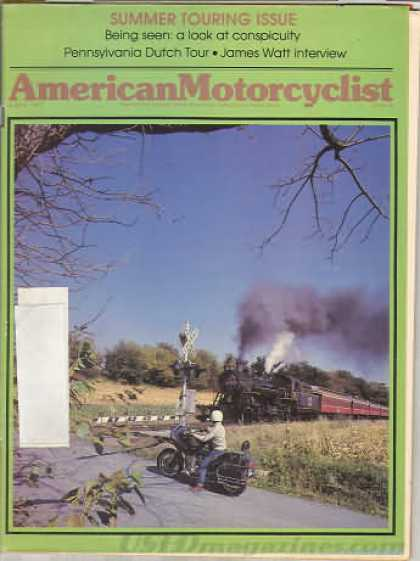 American Motorcyclist - August 1981