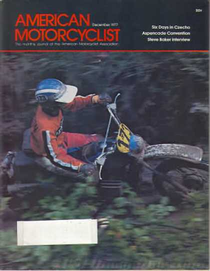 American Motorcyclist - December 1977