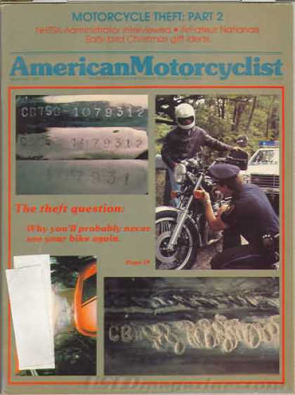 American Motorcyclist - November 1981