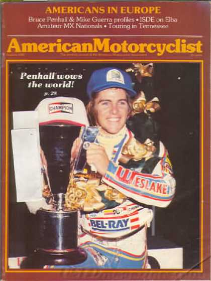 American Motorcyclist - January 1982