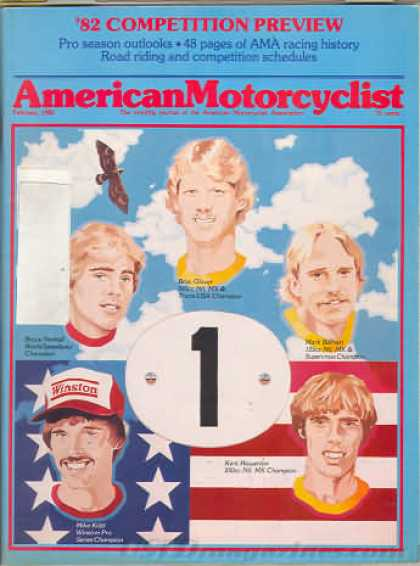 American Motorcyclist - February 1982