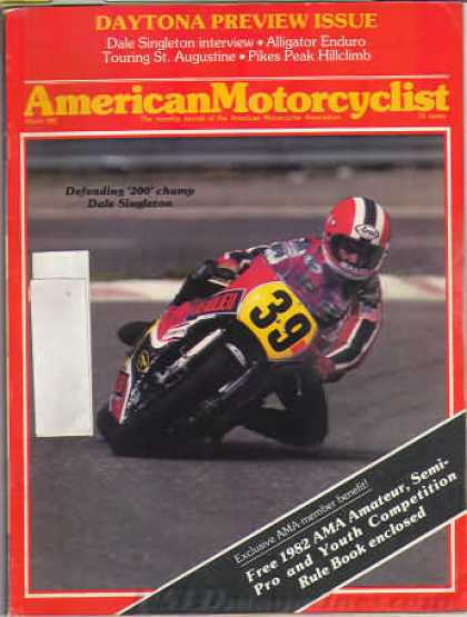 American Motorcyclist - March 1982