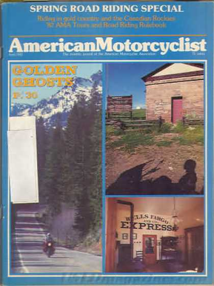 American Motorcyclist - April 1982