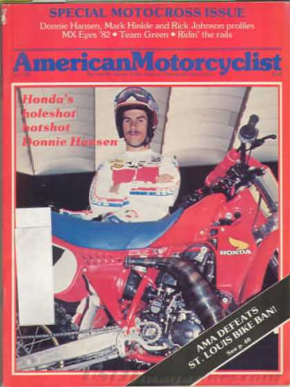 American Motorcyclist - July 1982