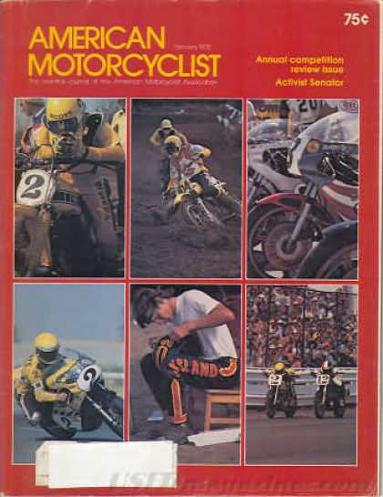 American Motorcyclist - January 1978
