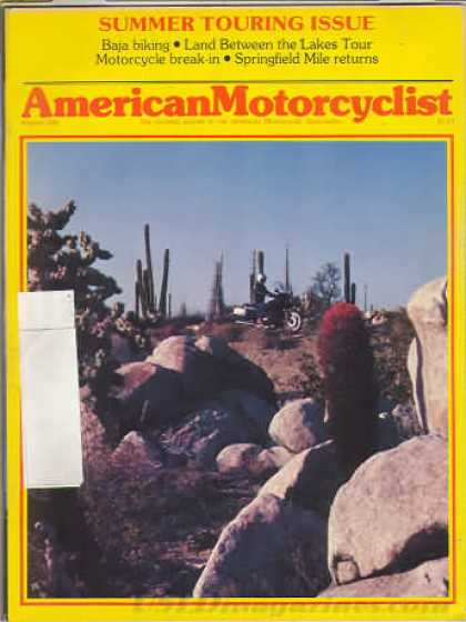 American Motorcyclist - August 1982