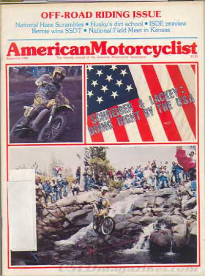 American Motorcyclist - September 1982