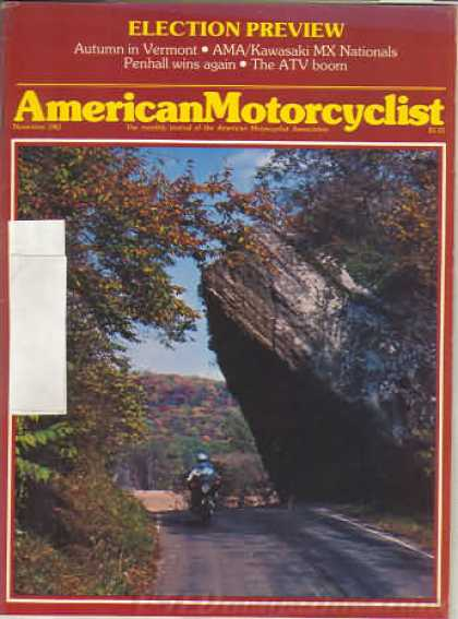 American Motorcyclist - November 1982