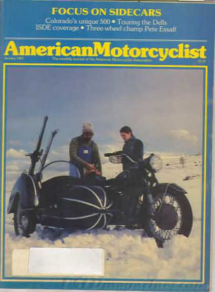 American Motorcyclist - January 1983