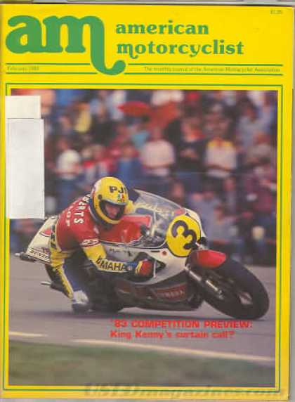 American Motorcyclist - February 1983