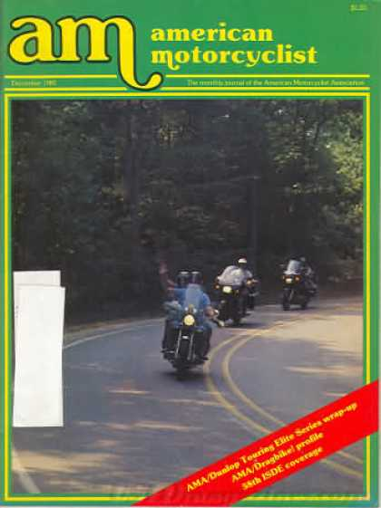 American Motorcyclist - December 1983