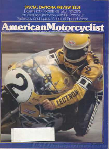 American Motorcyclist - March 1978