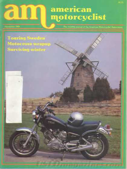 American Motorcyclist - November 1984