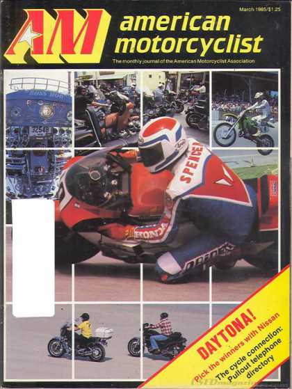 American Motorcyclist - March 1985