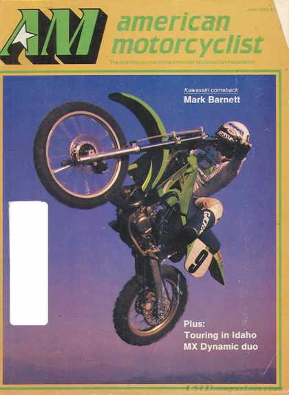 American Motorcyclist - June 1985