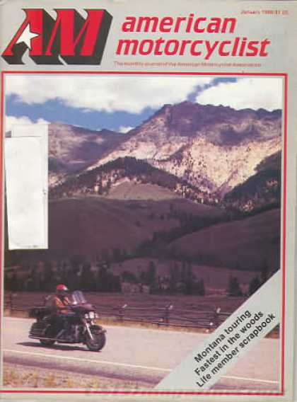 American Motorcyclist - January 1986