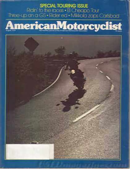 American Motorcyclist - August 1978