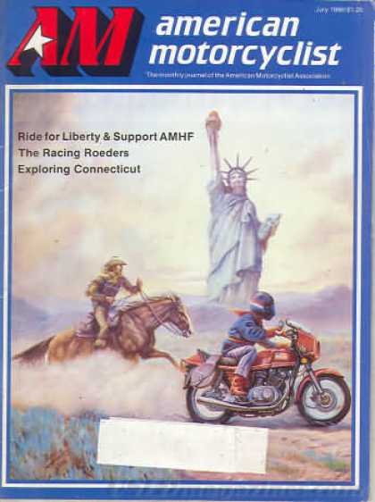American Motorcyclist - July 1986
