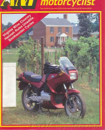 American Motorcyclist - October 1986