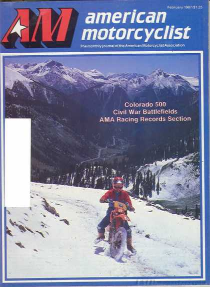 American Motorcyclist - February 1987