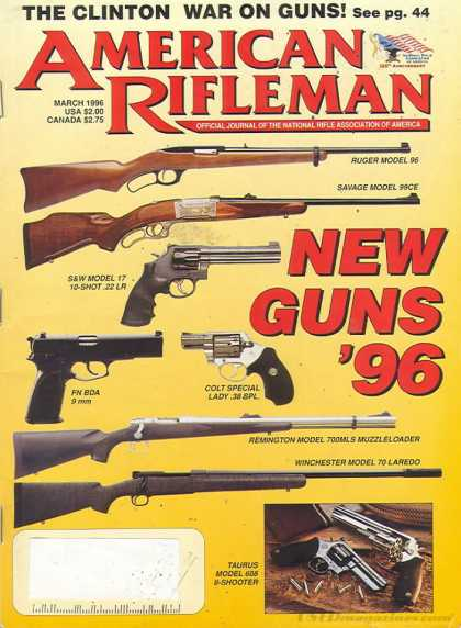 American Rifleman - March 1996