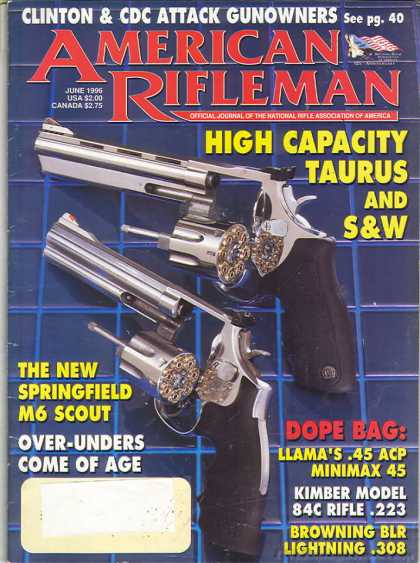 American Rifleman - June 1996