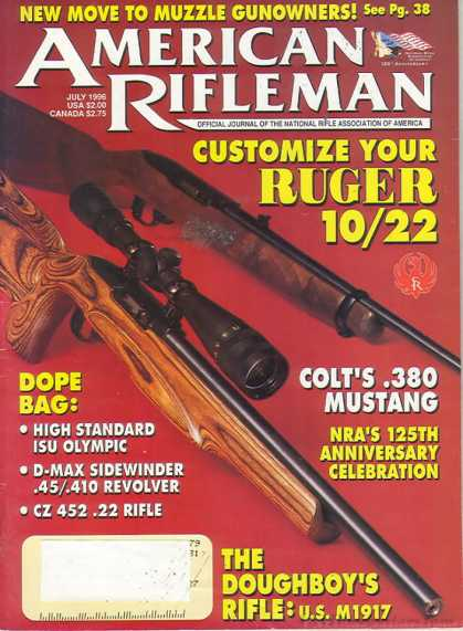 American Rifleman - July 1996