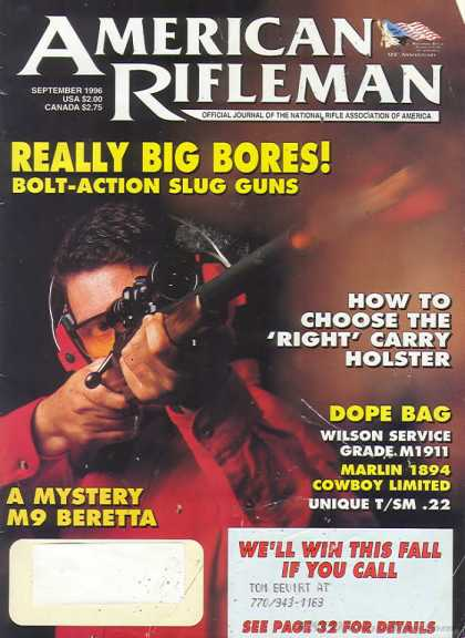 American Rifleman - September 1996