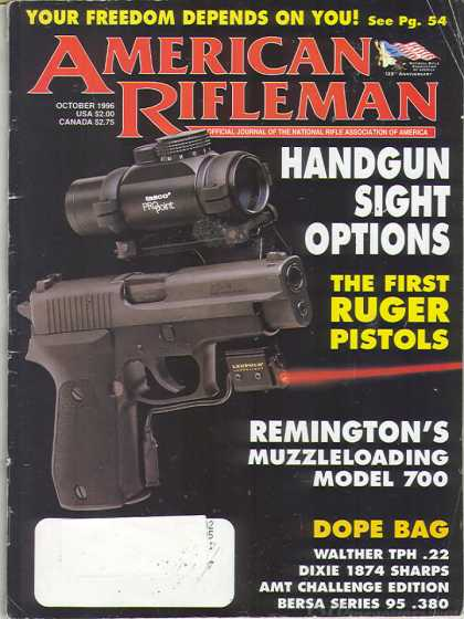 American Rifleman - October 1996